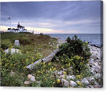 Keeper Canvas Print - Watch Hill Lighthouse - Fm000062 by Daniel Dempster