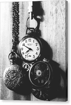 Canvas Print featuring the photograph Watches by Don Youngclaus