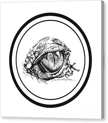 Watchfuleye Canvas Print by Roa Malubay