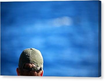 Watching For Whales Canvas Print by Michael Ledray