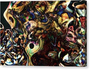 Watching Me Tote Bag Canvas Print by John Rizzuto