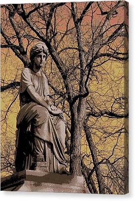 Watching Over Canvas Print by Anita Burgermeister