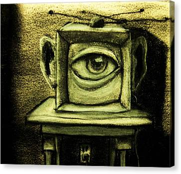 Watching The Watcher Canvas Print