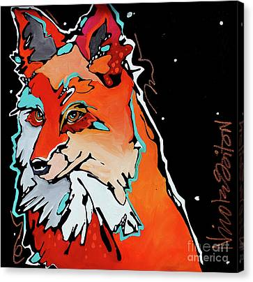 Into the Fox Hole original fox art pen and colored pencil fox art mythical art goth art