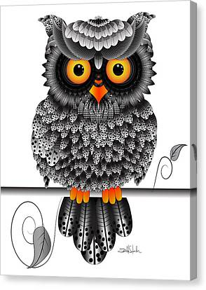 Watching You Canvas Print by Isabel Salvador