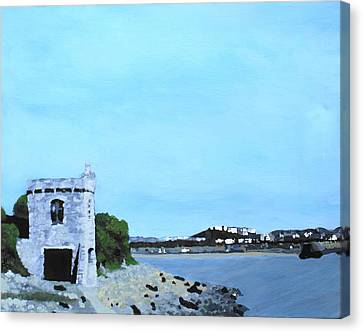 Watchtower Bay Canvas Print