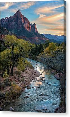 Watchtower Sunset - Www.thomasschoeller.photography Canvas Print