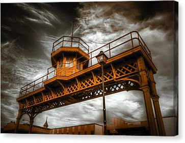 All Along The Watchtower Canvas Print by Wayne Sherriff