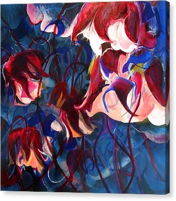 Water Avens II Canvas Print