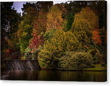 Canvas Print featuring the photograph Water Cascade by Ryan Photography
