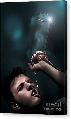 Water Crisis Canvas Print