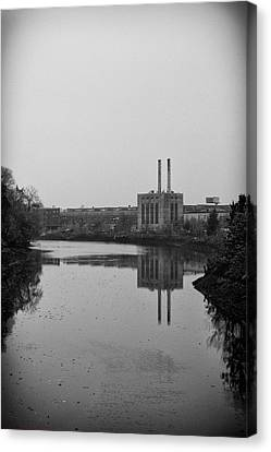Canvas Print featuring the photograph Water Factory by Lora Lee Chapman