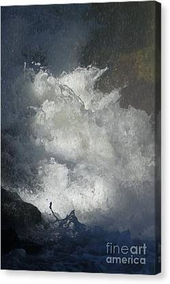 Water Fury 3 Canvas Print by Jean Bernard Roussilhe