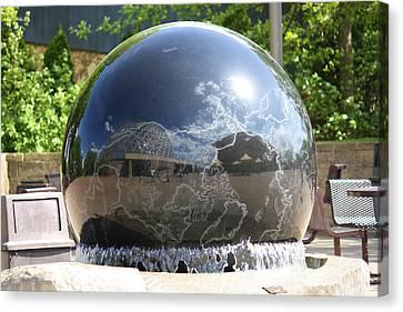 Water Globe Canvas Print by Karen M Scovill