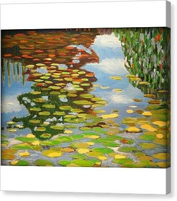 Impressionism Canvas Print - Water by Karyn Robinson