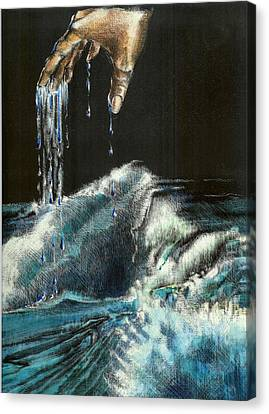 Water Canvas Print by Kathleen Romana