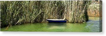 Water Scene Pano Canvas Print by Svetlana Sewell
