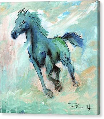 Sean Horse Canvas Print - Water by Sean Parnell