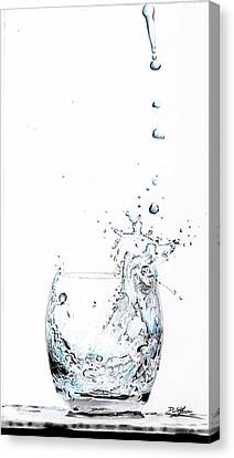 Water Splash 1 Canvas Print by Daniel House