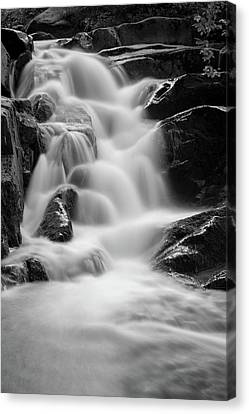 water stair in Ilsetal, Harz Canvas Print