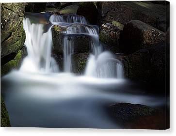 Water Stair - Long Exposure Version Canvas Print