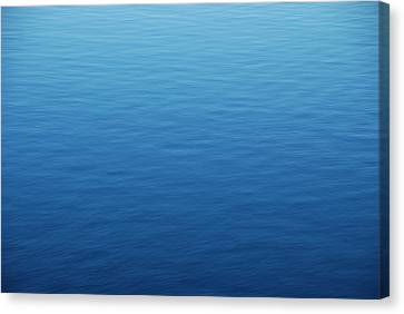 Water Surface Canvas Print by Happy Home Artistry