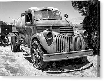 Water Truck - Chevrolet Canvas Print