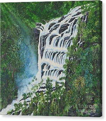 Water Canvas Print by Usha Rai