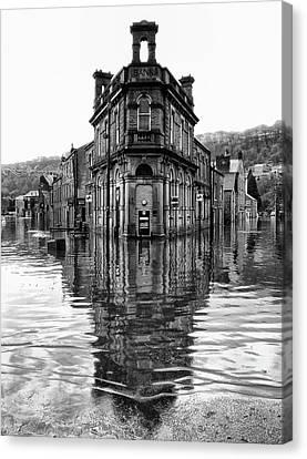 Water World - Hebden Bridge Canvas Print by Philip Openshaw