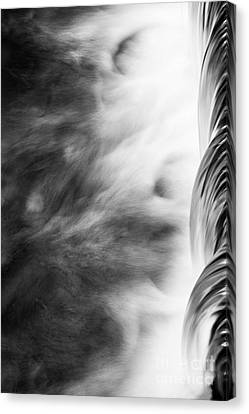 Canvas Print featuring the photograph Water by Yuri Santin