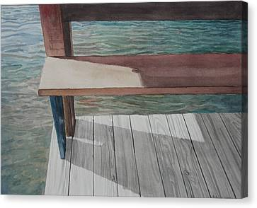 Water3 Canvas Print by Jeffrey Babine