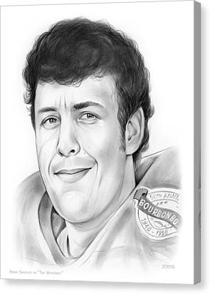 Waterboy Canvas Print by Greg Joens