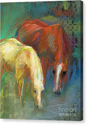 Waterbreak Canvas Print by Frances Marino