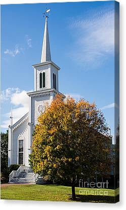 Waterbury Congregational Church, Ucc Canvas Print