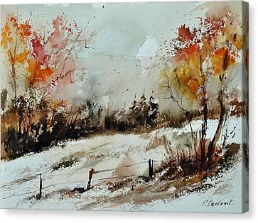 Watercolor 018090 Canvas Print by Pol Ledent