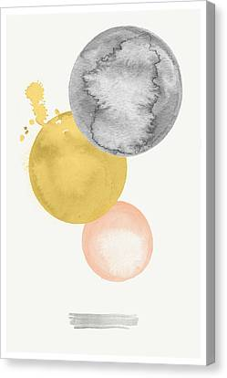Watercolor Abstract #4 Canvas Print by Nordic Print Studio