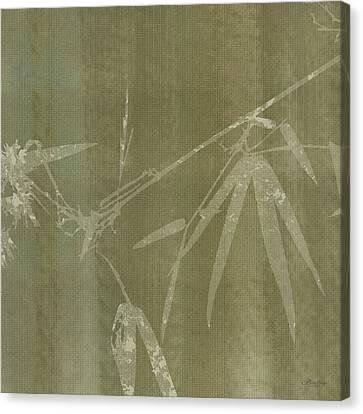 Watercolor Bamboo 01 Canvas Print