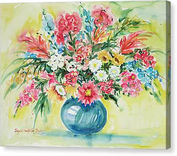 Watercolor Series 58 Canvas Print