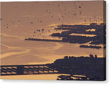 Watercraft Parking Lot Canvas Print by Soli Deo Gloria Wilderness And Wildlife Photography