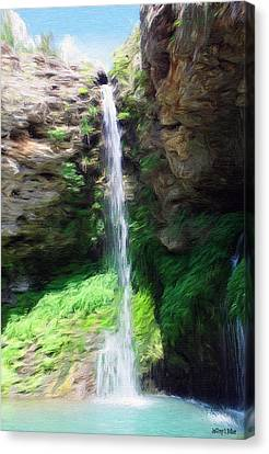 Waterfall 2 Canvas Print by Jeffrey Kolker