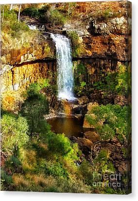 Waterfall Beauty Canvas Print by Blair Stuart