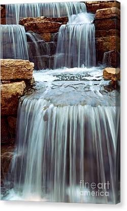 Waterfalls Canvas Print - Waterfall by Elena Elisseeva