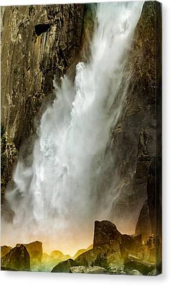 Canvas Print - Waterfall Glow by Bill Gallagher
