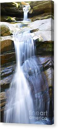 Waterfall In Nh Canvas Print