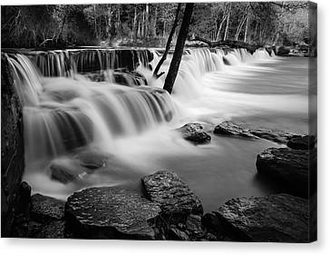 Waterfall Canvas Print by James Barber