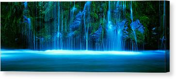Sacramento Canvas Print - Waterfall On A Cliff, Mossbrae Falls by Panoramic Images