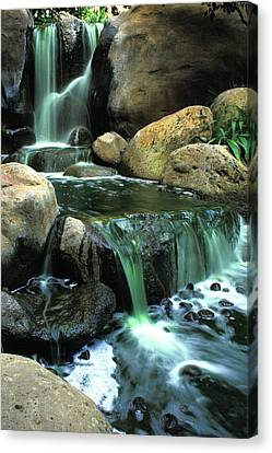 Waterfall On Maui Canvas Print