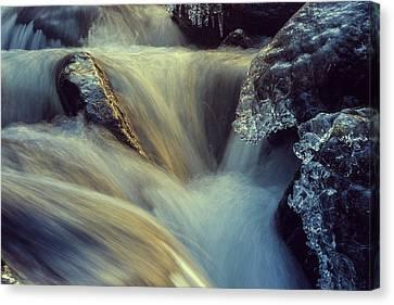 Waterfall Canvas Print by Scott Meyer
