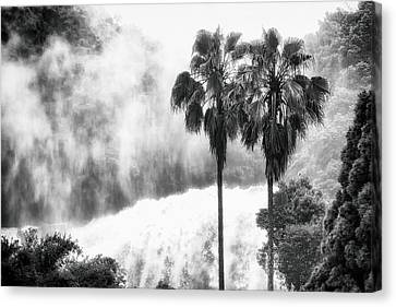 Waterfall Sounds Canvas Print by Hayato Matsumoto