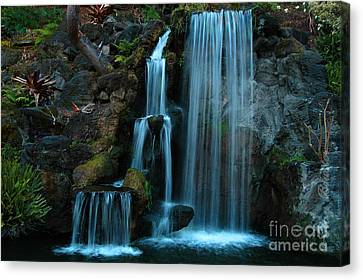 Waterfalls Canvas Print by Clayton Bruster